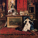 William Merritt Chase - Interior of the Artist-s Studio aka The Tenth Street Studio