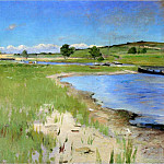 William Merritt Chase - Shinnecock Hills from Canoe Place Long Island