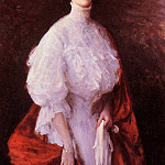 William Merritt Chase - Portrait of Miss Frances