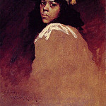 William Merritt Chase - The Moroccan Girl