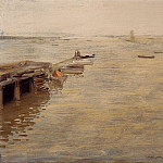 William Merritt Chase - Seashore aka A Grey Day