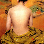 William Merritt Chase - Back Of A Nude