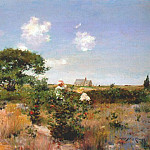 William Merritt Chase - untitled (shinnecock landscape) c1892