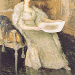 William Merritt Chase - Portrait of Susan Watkins