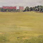 William Merritt Chase - View from Central Park