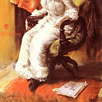 William Merritt Chase - In The Studio