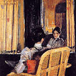 William Merritt Chase - Reflection