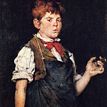 William Merritt Chase - The Apprentice aka Boy Smoking