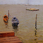 William Merritt Chase - Stormy Day Bath Beach