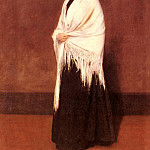 William Merritt Chase - Portrait Of Mrs-C-SHAWL
