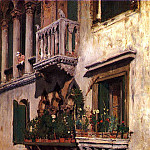 William Merritt Chase - Venice 1877