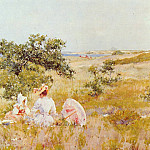 William Merritt Chase - The Fairy Tale aka A Summer Day