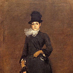 William Merritt Chase - Ready for a Walk Beatrice Clough Bachmann