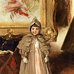 William Merritt Chase - My Little Daughter Dorothy