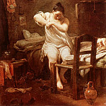 Giuseppe Maria Crespi - The Flea