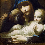 Guercino (Giovanni Francesco Barbieri) - Holy Family