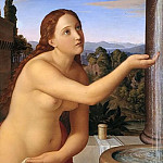 Karl Friedrich Schinkel - Bathsheba at her Bath