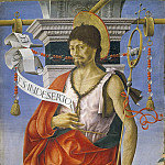 Saint John the Baptist from Griffoni Altarpiece