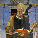 Gentile da Fabriano - Saint Peter from Griffoni Altarpiece