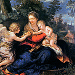 Pietro da Cortona - The holy family
