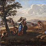 David Klöcker Ehrenstråhl - Landscape with Harvesting