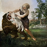 David Killing the Lion