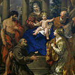 Vincenzo Campi - Madonna and Child with Saints