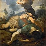 Guercino (Giovanni Francesco Barbieri) - David Slays Goliath