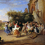 Alte und Neue Nationalgalerie (Berlin) - Wine Festival in the Roman Campagna