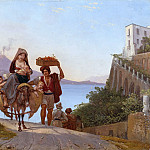 Alte und Neue Nationalgalerie (Berlin) - Gulf of Naples with fruit handler