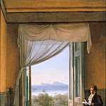 Domenico Quaglio - Karl Friedrich Schinkel in Naples