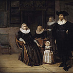 Pieter Jacobs Codde - Portrait of a Family