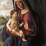 Justus Sustermans - Madonna And Child