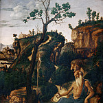 Gentile da Fabriano - St. Jerome in the desert