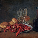 Donato Bramante - Still Life with Lobsters