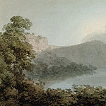 Lake of Vico Between Rome and Florence