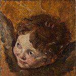 Ferdinand Julius Fagerlin - Head of a Cherub [Attributed]