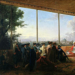 Audience Given in Constantinople by the Grand Vizier Aimali Carac for Francois-Emmanuel Guignard, Manuel S Franco