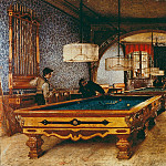 Giuseppe Molteni - Game of pool