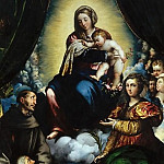 Giovanni Battista Cima da Conegliano - Madonna and Child with Saints
