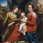 The Mystic Marriage of St Catherine [Attributed]