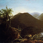 Thomas Cole - Sunrise in the Catskill Mountains