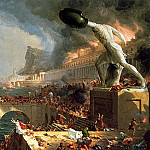 Thomas Cole - The Course of Empire Destruction