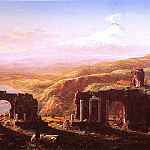 Thomas Cole - Mt Edna From Taormina 1844