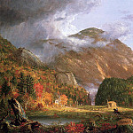 Thomas Cole - The Notch of the White Mountains (Crawford Notch)