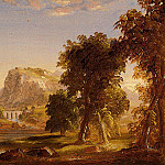 Thomas Cole - Sketch for -Dream of Arcadia-