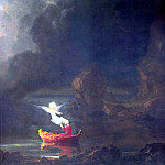 Thomas Cole - hudson the voyage of life old age