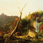 Thomas Cole - Autumn Landscape (Mount Chocorua)