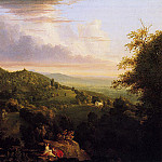 Thomas Cole - View of Monte Video Seat of Daniel Wadsworth Esq