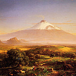 Thomas Cole - Mount Etna